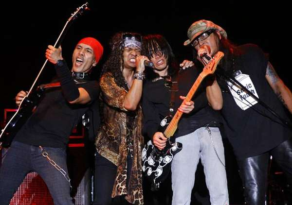 All Indonesian Rock Star di Konser Alice Cooper