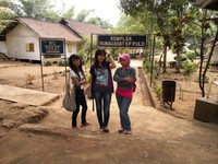 Komplek rumah adat Kampung Pulo