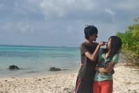 Love at the sea shore