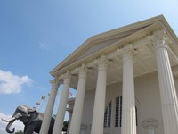 Ini lho Museum Satwa yang gedungnya kayak bangunan Yunani..