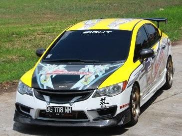 Honda Civic Terinspirasi Film Fast Furious