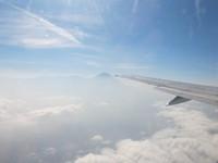 Flying back to Jakarta