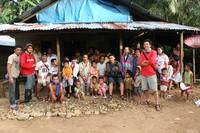 Foto bersama penduduk Lorong Desa 4 (Dusun Bongal)
