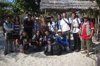 Foto sebelum meninggalkan pulau