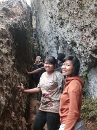 Narrow rocks