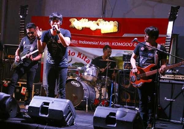 Musisi Dukung Konser Vote Komodo