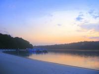Sunrise at Peucang