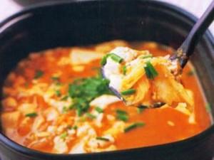 Resep: Sup Sawi Tofu Pedas