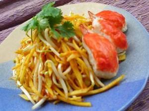 Resep: Selada Mangga Kepiting