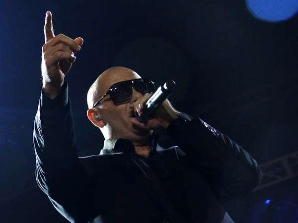 Konser Singkat Pitbull