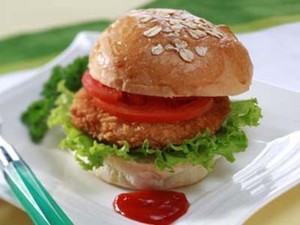 Resep Ayam: Crispy Chicken Burger