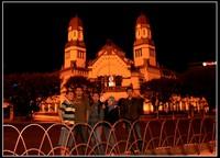 Narsis di depan Lawang Sewu Semarang