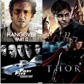 10 Film Hollywood Paling Banyak Dibajak di 2011
