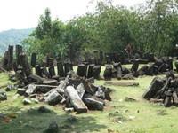 Tumpukan bebatuan andesit (babadsunda.blogspot.com)
