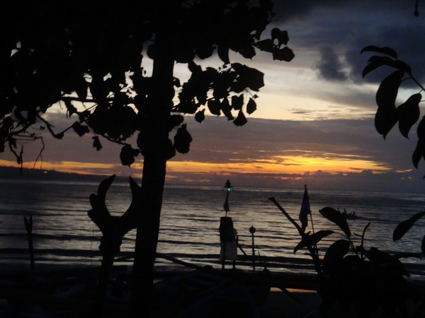 sunset di kedonganan