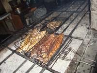 ikan yang dibakar