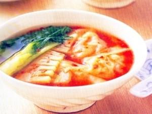 Resep: Sup Wonton Pedas