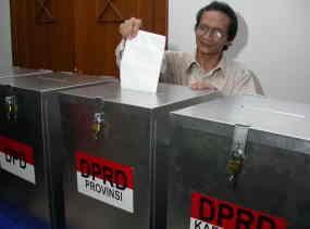 Inilah Tahapan Pemilu Legislatif 2014