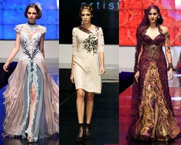 Karya 3 Desainer Unggulan Tutup Indonesia Fashion Week 2012