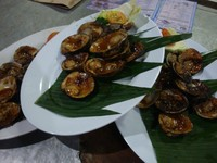 Nyammmm, aneka seafood yang nikmat (Faela Shafa/detikTravel)