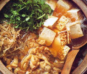 Resep Ayam : Hot Pot Ayam Tofu