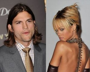 Rihanna Kencan dengan Ashton Kutcher?