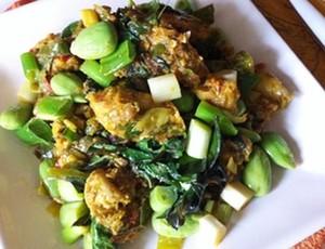 Resep Ayam: Ayam Ungkep Petai