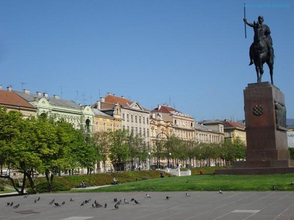 Bingkai Artistik Eropa Tengah Di Kota Zagreb Kroasia
