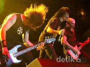 Anthrax & Hellyeah Guncang Ancol