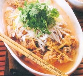 Resep Sup: Sup Ayam Jahe