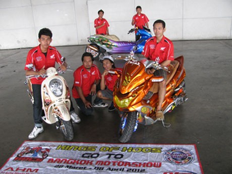 Modifikator Honda Indonesia Jadi Juara di Bangkok International Motorshow 2012