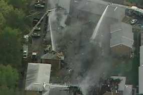 Jet Tempur F-18 Milik AS Jatuh Menimpa Apartemen, 9 Orang Terluka