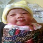 Andita Anggraini, lahir 15 April 2012, putri dari Keluarga Sumardi di Yogyakarta. Berat Badan 4,5 kg dan Tinggi Badan 50 cm. 'Imut'