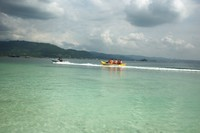 Serunya ber-banana boat