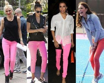 Jeans Warna Pink Idola Baru Para Selebriti