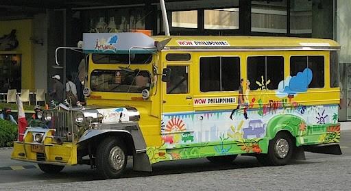 Jeepney Angkutan Umum Unik Di Filipina