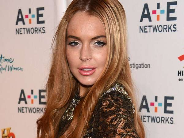 Bibir Seksi Lindsay Lohan