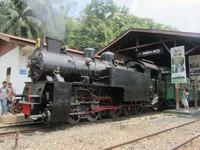 Kereta Mak Itam, yang antik dan bersejarah (dok. Putri/detikTravel)