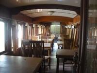 Bagian dalam gerbong restoran Mak Itam (dok. Putri/detikTravel)
