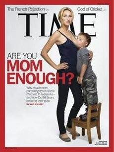 Majalah Time Picu Kontroversi dengan Sampul Ibu Menyusui Balita