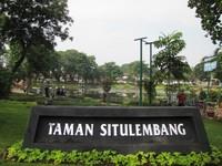 Taman Situ Lembang yang hijau di kawasan Menteng (Fitraya/detikTravel)