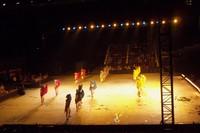 Penari-penari dalam pertunjukan Sendratari Ramayana