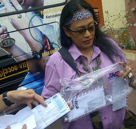 Renny Jayusman Lapor ke Polda karena 2 Anaknya Dikirimi Paket Ganja
