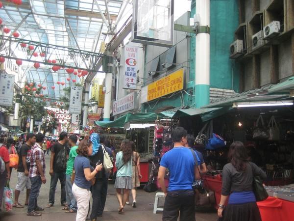 Suasana Chinatown Kuala Lumpur (Erna/detikBandung)