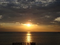 Sunset di Gili Trawangan  (dok. Putri/detikTravel)