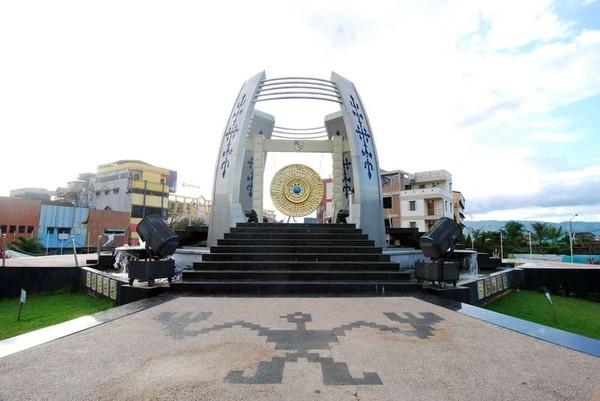 Inilah Gong Perdamaian Dunia di Ambon (Brama Danuwinata Ramadhan/ACI)