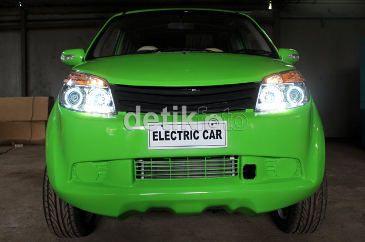 'Mobil Listrik Nasional Dirancang Insinyur Indonesia'