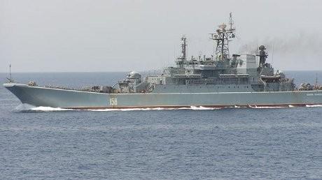 Wah! Rusia Kirim 2 Kapal Perang ke Suriah