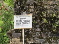Pintu masuk ke Benteng Portugis (Afif/detikTravel)