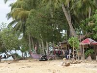 Suasana di pinggir pantai (Afif/detikTravel)